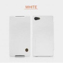 Nillkin Qin Book Pouzdro White pro Sony Xperia Z5 Compact
