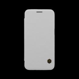 Nillkin Qin Book Pouzdro White pro Samsung G930F Galaxy S7