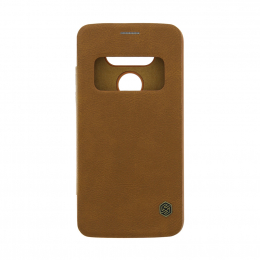 Nillkin Qin Book Pouzdro Brown pro LG H850 G5