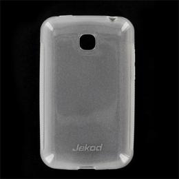 JEKOD TPU Ochranné Pouzdro White pro LG E400 L3