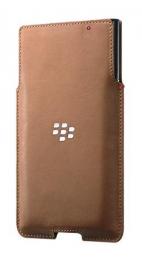 ACC-62172-002 Pouzdro pro BlackBerry Priv kožené hnědé