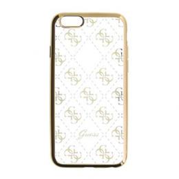 Pouzdro Guess 4G TPU Gold pro iPhone 5/5S/SE