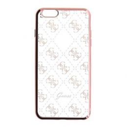 Pouzdro Guess 4G TPU Rose Gold pro iPhone 5/5S/SE