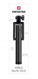 Swissten Wired Selfie Stick