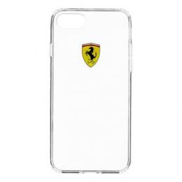 Pouzdro Ferrari Racing TPU iPhone 7 čiré