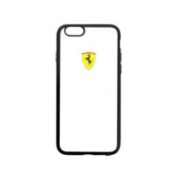 Pouzdro Ferrari Racing TPU iPhone 5/5S/SE černé