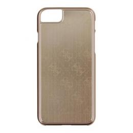 Pouzdro Guess 4G Aluminium iPhone 7 zlaté