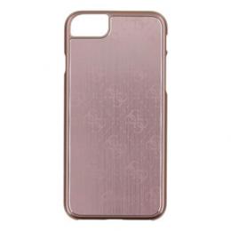 Pouzdro Guess 4G Aluminium iPhone 7 růžové