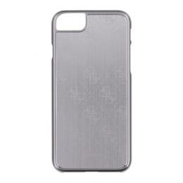 Pouzdro Guess 4G Aluminium iPhone 7 stříbrné