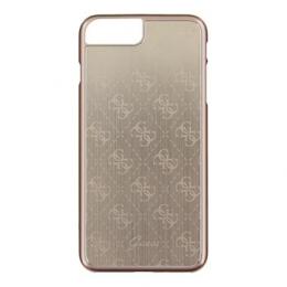 Pouzdro Guess 4G Aluminium iPhone 7 Plus zlaté