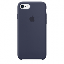 Pouzdro Apple iPhone 7/8 Silicone Case Midnight Blue