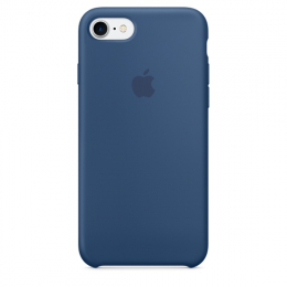 Pouzdro Apple iPhone 7 Silicone Case Ocean Blue
