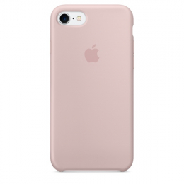 Pouzdro Apple iPhone 7 Silicone Case Pink Sand