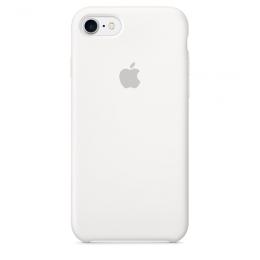 Pouzdro Apple iPhone 7 Silicone Case White