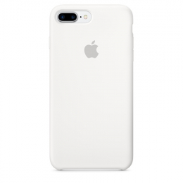 Pouzdro Apple iPhone 7/8 Plus Silicone Case White