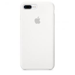 Pouzdro Apple iPhone 7 Plus Silicone Case White