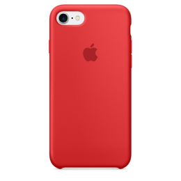 Pouzdro Apple iPhone 7 Silicone Case (Product) RED