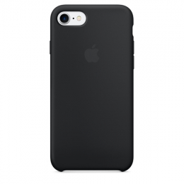 Pouzdro Apple iPhone 7/8 Silicone Case Black