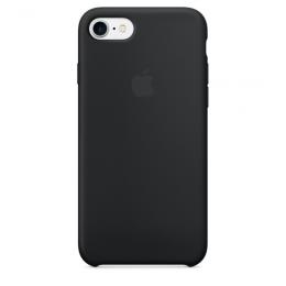 Pouzdro Apple iPhone 7 Silicone Case Black