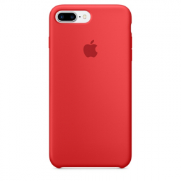 Pouzdro Apple iPhone 7 Plus Silicone Case (Product) RED