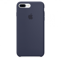 Pouzdro Apple iPhone 7 Plus Silicone Case Midnight Blue