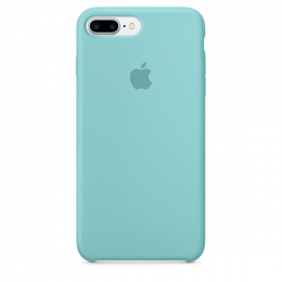 Pouzdro Apple iPhone 7 Plus Silicone Case Ocean Blue