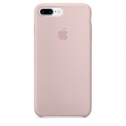 Pouzdro Apple iPhone 7 Plus Silicone Case Pink Sand