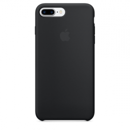 Pouzdro Apple iPhone 7/8 Plus Silicone Case Black