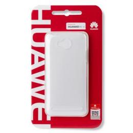 Pouzdro Huawei Original Protective 0.8mm pro Huawei Y6 II bílé