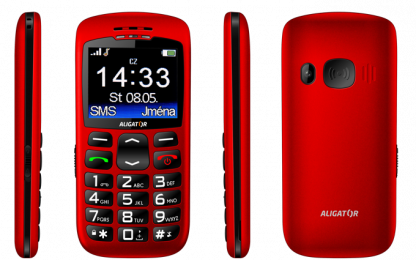 Aligator A670 Senior Red