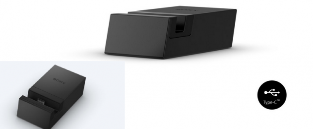 Nabíječka Sony DK60 dokovací stanice k Sony Xperia XZ/X Compact Type-C