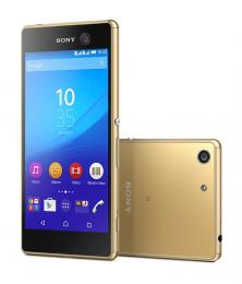 Sony Xperia M5 Dual SIM Gold - předváděcí kus