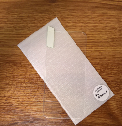 Swissten Tvrzené Sklo 3D Silikon 9H pro Apple iPhone 6/6S