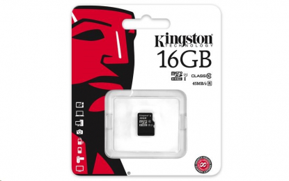 Kingston microSDHC 16GB UHS-I U1 SDC10G2/16GBSP