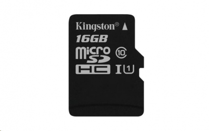 Kingston microSDHC 16GB UHS-I U1 SDCS/16GB