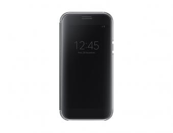 Pouzdro Samsung EF-ZA520CBE Clear View černé pro Samsung Galaxy A5 2017