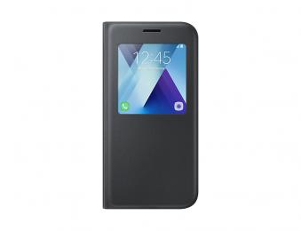 Pouzdro Samsung EF-CA520PBE S-View černé pro Samsung Galaxy A5 2017