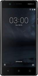 Nokia 3 Single SIM Matt Black