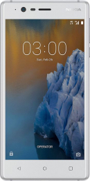 Nokia 3 Single SIM White