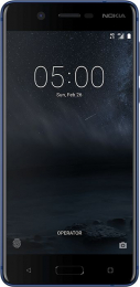 Nokia 5 Single SIM Tempered Blue