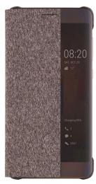 Huawei Original S-View Pouzdro Brown Pro Huawei P10