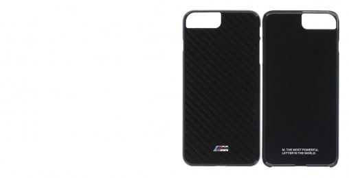 Pouzdro BMW Carbon Inspiration Zadní iPhone 7 černé