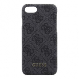 Pouzdro Guess 4G Hard Case Grey iPhone 7