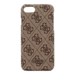 Pouzdro Guess 4G Hard Case Brown iPhone 7