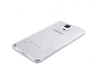 Pouzdro Nillkin Nature TPU Samsung Galaxy Note 4 čirý