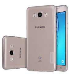Pouzdro Nillkin Nature TPU Samsung J7 2016 J710F šedé