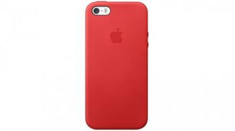 Pouzdro Apple MF046FE/A Original iPhone 5/5S/SE červené