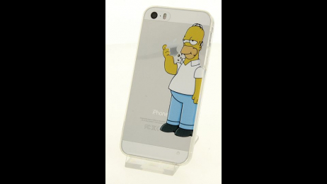 Silikonové pouzdro s motivem Homera Simpsona pro iPhone 5/5S/SE