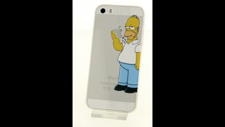 Plastové pouzdro s motivem Homera Simpsona pro iPhone 5/5S/SE