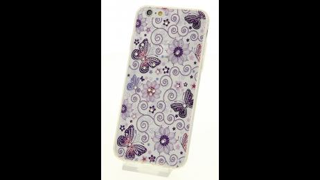 Plastový zadní kryt pro iPhone 6 a iPhone 6S s motivem motýlů II.